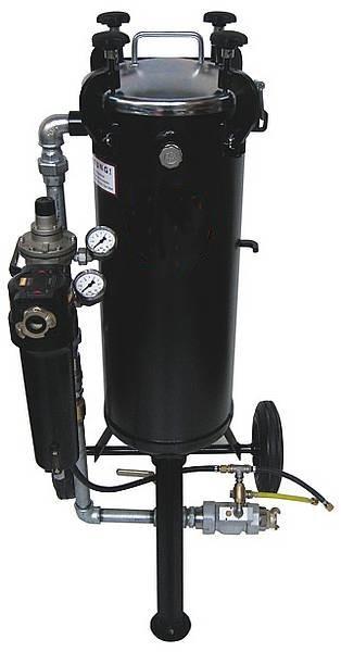 Niederdruckstrahlgerät DYNAMIC 45 Liter_