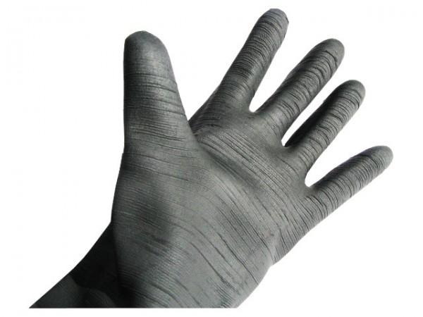 Sandstrahl-Handschuhe Latex, 600 mm lang, mit Stulpe zum_
