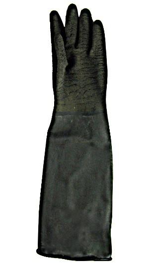 Sandstrahl-Handschuh Latex, 600 mm lang, mit Stulpe zum_