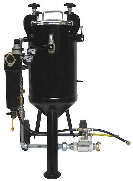 Niederdruckstrahlgerät DYNAMIC 25 Liter_