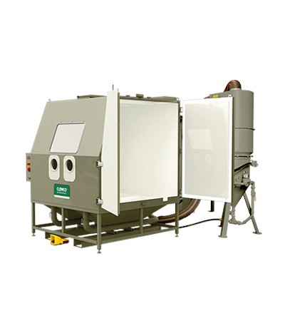BNP-601 Druckstrahlkabine mit SCW-2040 (100l), 900 CFM _