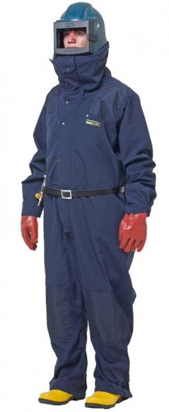 Sandstrahl-Schutzoverall DEFENDER ULTRA (dunkelblau /_