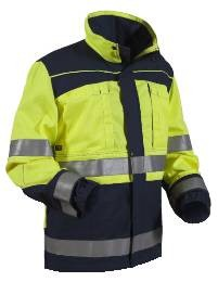 Eurosafe Jacke Kl. 2 Gelb/Marineblau XL_