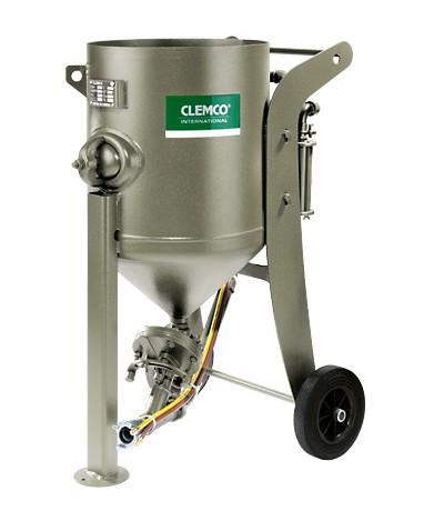 Druckstrahlgerät 100 L fahrbar, Clemco SCW 2040 mit FSV und_