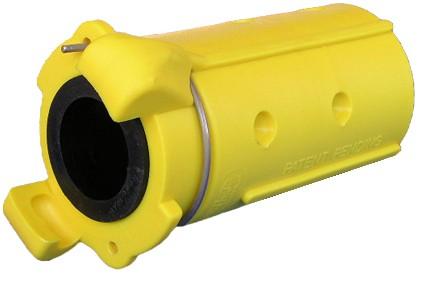 Schlauchkupplung CQP-2 aus Nylon für Schlauch 32 x 8 mm_