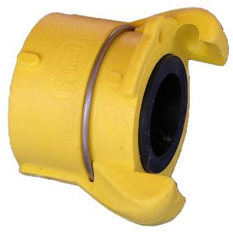 Innengewindekupplung Nylon CFP-50 (Düsenhalter) mit_