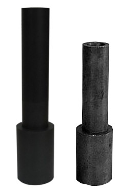 Borcarbid-Druckstrahldüse VDL 32 VENTURI, Einlass 32 mm,_