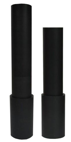 Borcarbid-Druckstrahldüse VDL 25 VENTURI,  Einlass ø 25 mm,_
