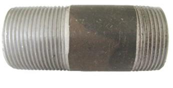 """P-31Rohrnippel gummiert 1 1/4"""" Länge 100 mm_"""