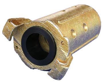 Schlauchkupplung Temperguss für Schlauch 32 x 8 mm_