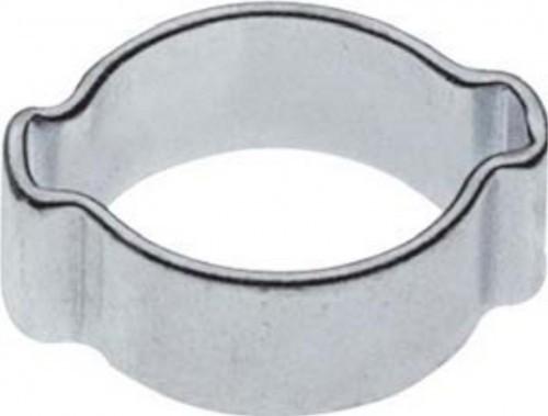 Zwei-Ohr-Schlauchklemme, Spannbereich  22 - 25 mm_