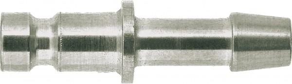 Stecknippel mit Schlauchtülle SLW 5 mm - vernickelt für_