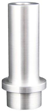 Borcarbid-Strahldüse Standard Typ N4, in ALU-Mantel, Bund_
