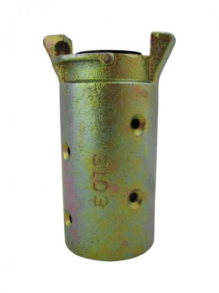 Schlauchkupplung Temperguss für Schlauch 38 x 9 mm_