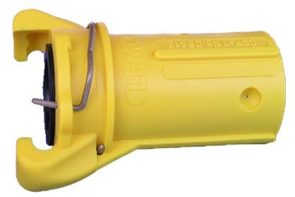 Schlauchkupplung CQP-1 aus Nylon für Schlauch 25 x 7 mm_