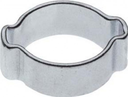 Zwei-Ohr-Schlauchklemme, Spannbereich  14 - 17 mm_