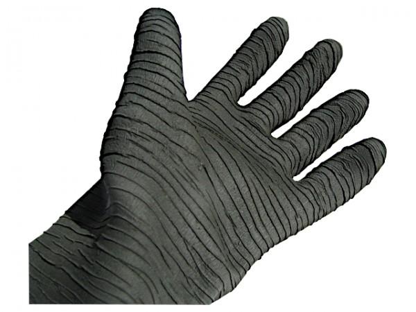Sandstrahl-Handschuhe Latex Gr. 10 / Länge 600 / zum Einbau_