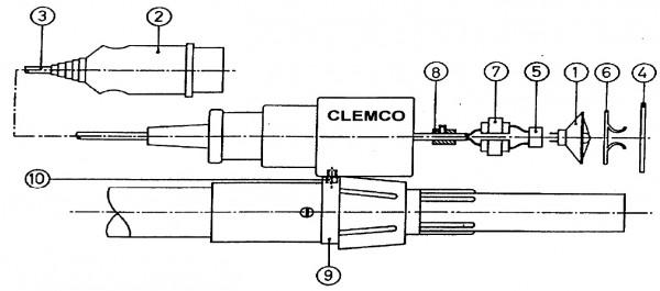 Strahlerlampe12V/20W Clemco_