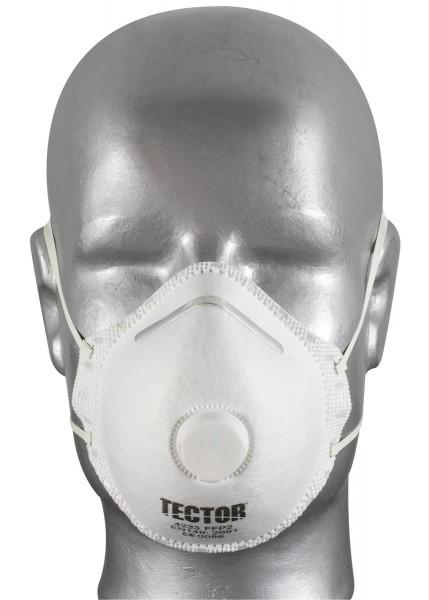 TECTOR Feinstaubmaske FFP2 mit Ausatmungsventil_