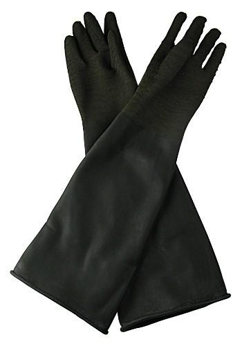 Sandstrahl-Handschuhe Latex Gr. 10 / Länge 600 / ø 200 mm_