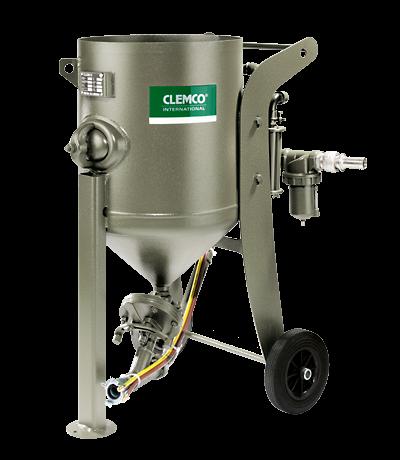 Druckstrahlgerät 100 L fahrbar, Clemco SCW 2040 mit SA-1_