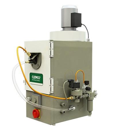 DCM 161 Injektor-Strahlkabine (Trommelanlage) MIT Gebläse_
