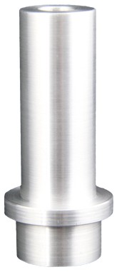Borcarbid-Strahldüse Standard Typ N6, in ALU-Mantel, Bund_